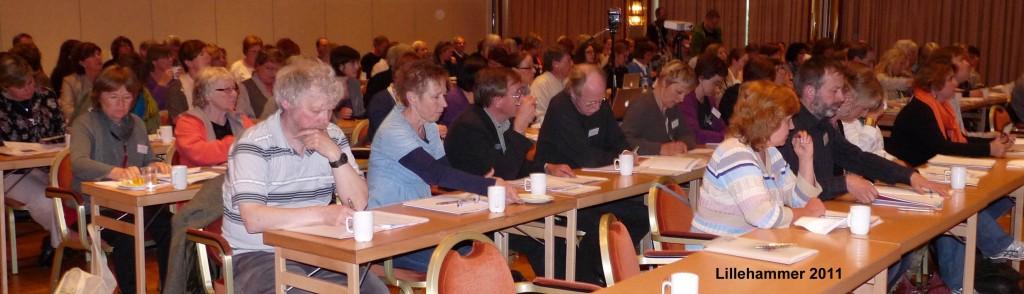 Deltagere på brukermøtet 2011, Lillehammer